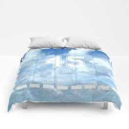 45 Clouds Jersey Comforters