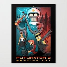 Futurator 2 Canvas Print