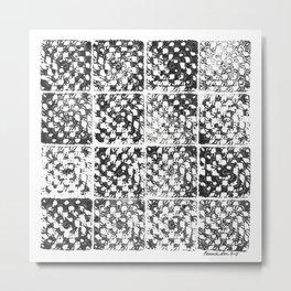 Crochet Impressions: GRANNY Metal Print