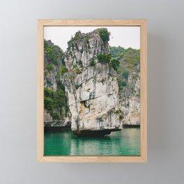 Amazing Rock Formation in Vietnam Framed Mini Art Print