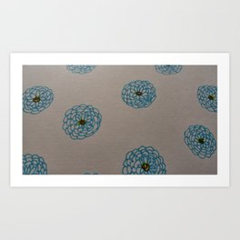 Blue is the warmest color Art Print