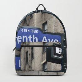 New York City Street Names Backpack