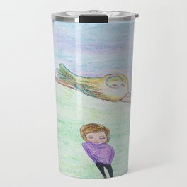 His Eyes Are On the Sparrow and Me Travel Mug
