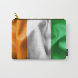 Ivory Coast Flag Carry-All Pouch