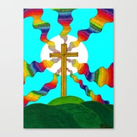 book cover Canvas Prints featuring Book cover by Carrollskitchen on youtube