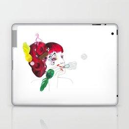 Bubble girl Laptop & iPad Skin