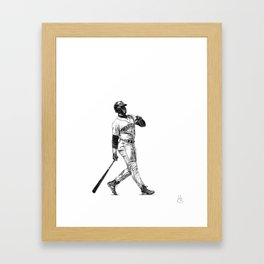 Ken Griffey Jr. Framed Art Print