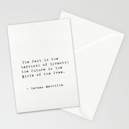 Herman Melville quote 16 Stationery Cards