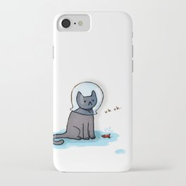 Jellybean and the fishbowl iPhone Case