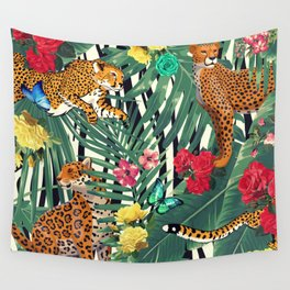 tropical wild  Wall Tapestry