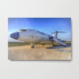 Malev Tupolev TU-154 Jet Metal Print