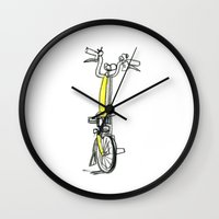 brompton Wall Clocks featuring Brompton front view by Swasky