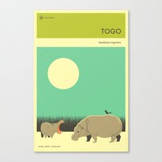 TOGO TRAVEL POSTER Canvas Print