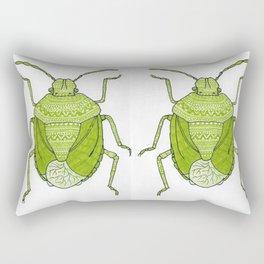 Aztec printed bug Rectangular Pillow