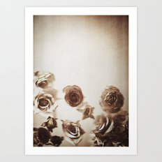 Falling Flower Variation II Art Print