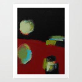Morceaux/Pieces 3 Art Print