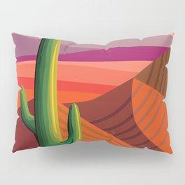Phoenix Arizona Travel Poster Pillow Sham