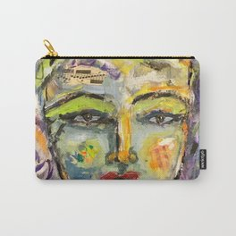 A Song on my mind Abstract Face Art Carry-All Pouch