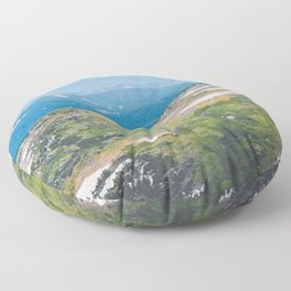 Alpine Mosses Floor Pillow