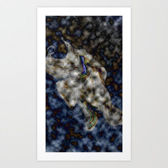 Night cap Art Print