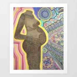 Divine Creation Art Print