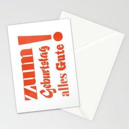 Happy Birthday – Zum Geburtstag alles Gute Stationery Cards