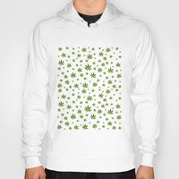 weed Hoodies featuring Weed Weed Weed by Spyck