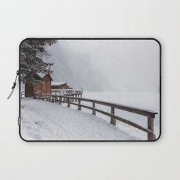 Lago Di Braies, Dolomites, Italy Laptop Sleeve