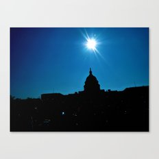 Capitol Sky Canvas Print
