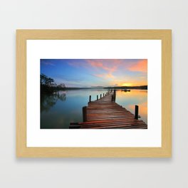 Sunset 2 Framed Art Print