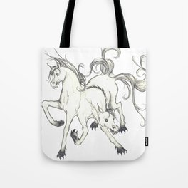 horse of DOOM Tote Bag