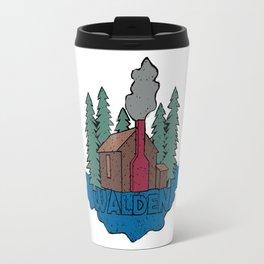 Walden - Henry David Thoreau (Coloured textured version) #society6 #decor #buyart Travel Mug