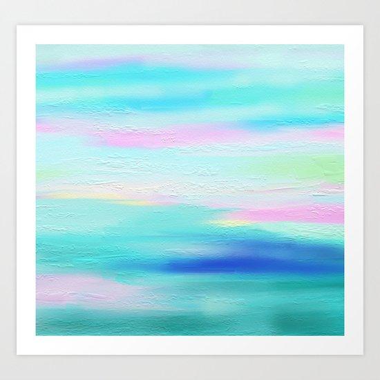 Horizon FREE SHIPPING & 5$ of each item ordered Art Print