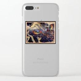 Helvetius Pisces Clear iPhone Case