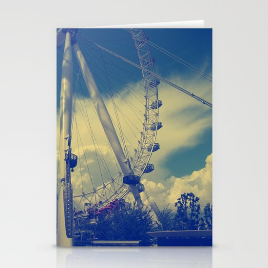 London Eye III Stationery Cards