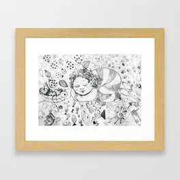 Sweet Dreams by Ines Zgonc Framed Art Print