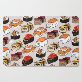 Sushi Persian Cat Cutting Board