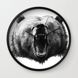 Bear HOBO Wall Clock