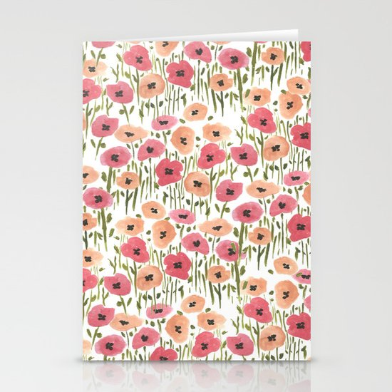 Garden Print Stationery Cards