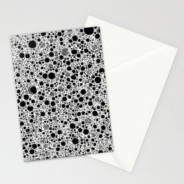 Smart black and white 6B Stationery Cards