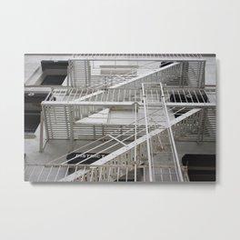 Firescape Metal Print