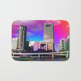 Rainbow City Bath Mat