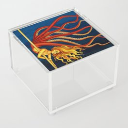 Pole Creatures - Mermaid Acrylic Box