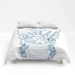 Hipster Sailor Comforters