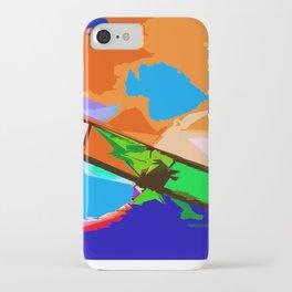 Biplane Aerobatics iPhone Case