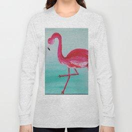 Frank the Flamingo Long Sleeve T-shirt