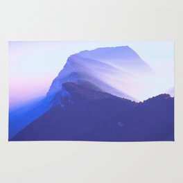 French mountains Rug