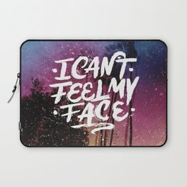 I Can't Feel My Face Laptop Sleeve