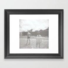 The Longer Framed Art Print