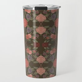 DIAMOND FLORAL Travel Mug